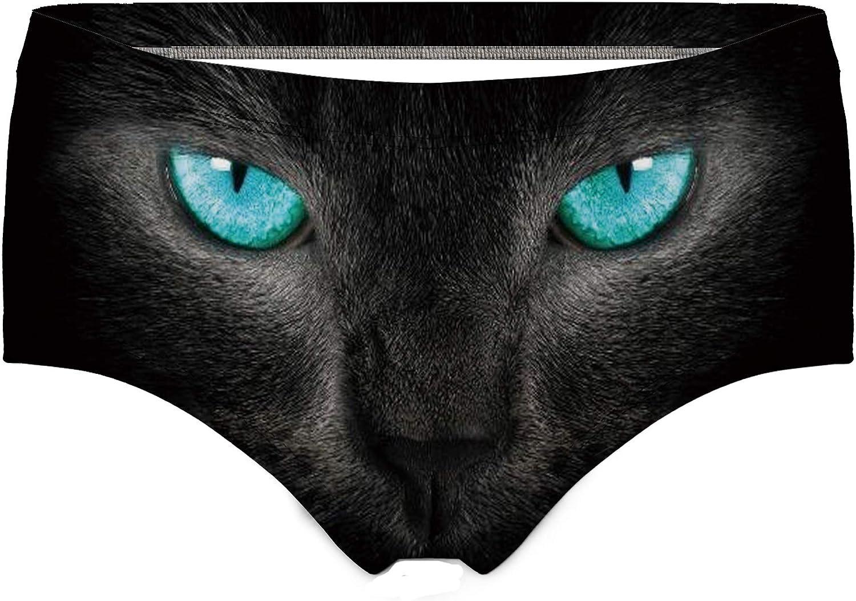 Funny Cat Women/'s Briefs