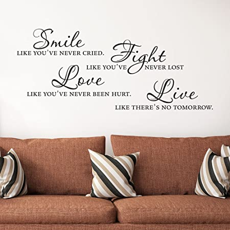 Wall Sticker Proverbs Home Is The Most Beautiful Thing Birthday