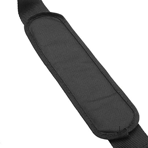Correa de Arnés Doble Hombro Desbrozadora,GOCHANGE Cinturón de Nylon Negro para Barrenderos /Cortador de Césped, Corte de Hierba