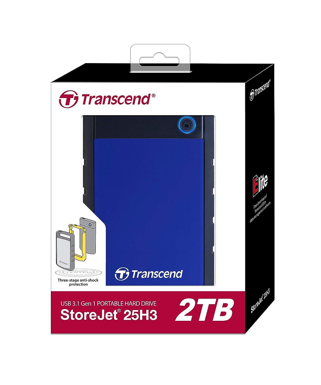 Amazon.com: Transcend Storejet Portable USB 3.0 disco duro ...
