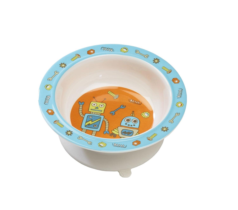 SugarBooger Suction Bowl, Retro Robot Ore