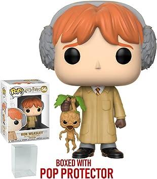 Funko Pop! Películas: Harry Potter – Ron Weasley (Herbología ...