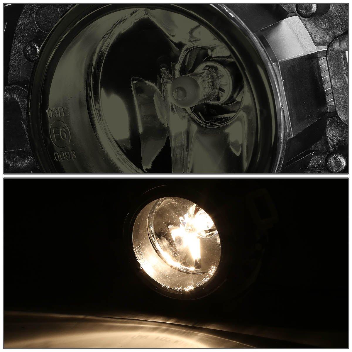 Driver /& Passenger Side DNA Motoring FL-T029-AM Amber Fog Light Assembly
