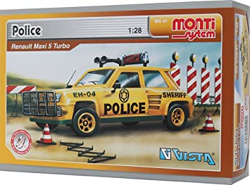 Vista vista0105 - 41 MS 41 Policía Set de construcción: Amazon.es: Juguetes y juegos