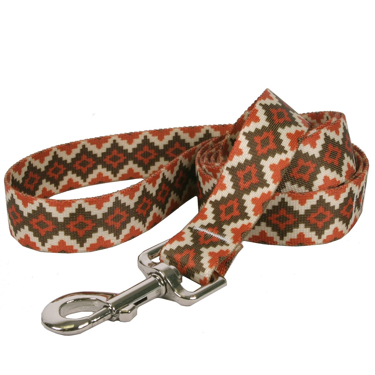 Yellow Dog Design Aztec Sand Dog Leash 1'' Wide And 5' (60'') Long, Large