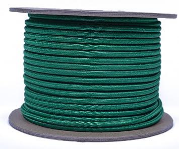 """Kelly green1/8 """"shock Cord – Bored Ossian de paracaídas/cuerda elástica"""