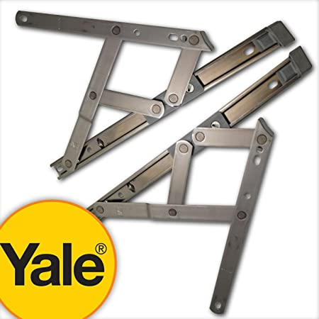 wholesale dealer 6b826 c0efe Yale uPVC Window Hinge Double Glazing Friction Stay PVC 13mm (Top 10
