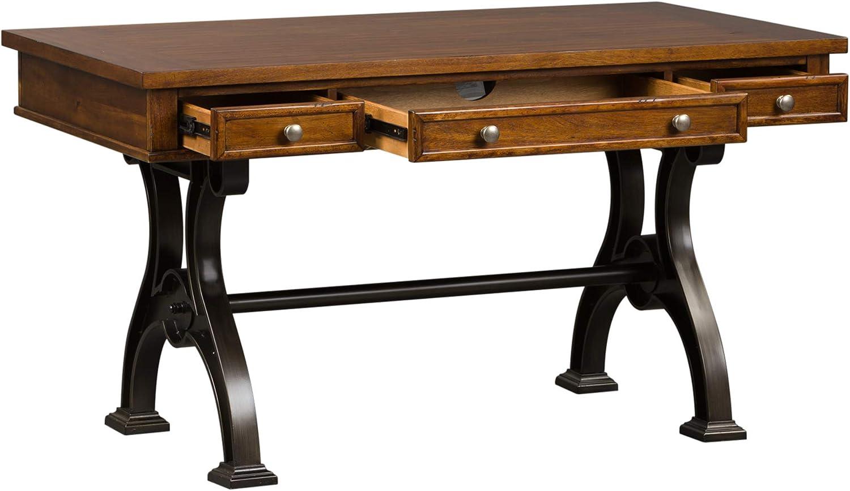 Liberty Furniture Industries Arlington House Writing Desk, W56 x D30 x H31, Medium Brown