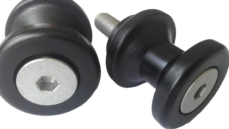 Black NEX Performance Swingarm Spools 6mm