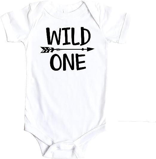Amazon.com: Wild One - Body de primer cumpleaños para niño ...