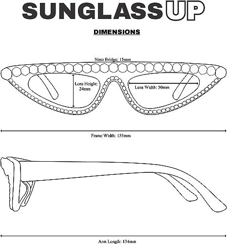 TYJYY Sunglasses Luxury Diamond Women Occhiali da Sole Stelle Oversize Occhiali da Sole Gradiente Unisex per Uomo Uv400