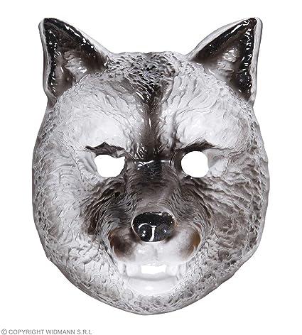 Mascara de Lobo infantil Cualquier día