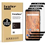iVoler [3 Unidades] Protector de Pantalla para BQ Aquaris X2 / BQ Aquaris X2 Pro, [Cobertura Completa] Cristal Vidrio Templado Premium, [Dureza 9H] [Anti-Arañazos] [Sin Burbujas]