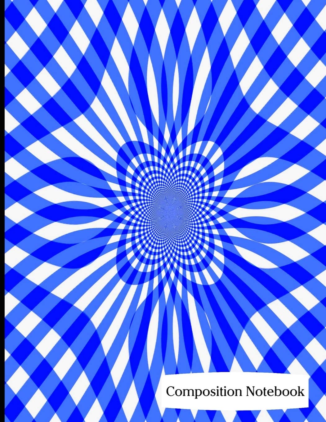 """Read Online Composition Notebook: Blue Swirl Pattern Composition Notebook - 8.5"""" x 11"""" - 200 pages (100 sheets) College Ruled Lined Paper. Glossy Cover. PDF"""
