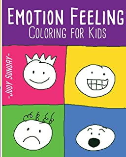emotion feeling coloring book for kids fun activity kids activity book - Feelings Coloring Book