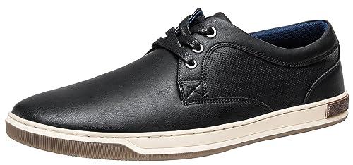 Amazon.com: JOUSEN Zapatillas de moda para hombre, 3 ojales ...