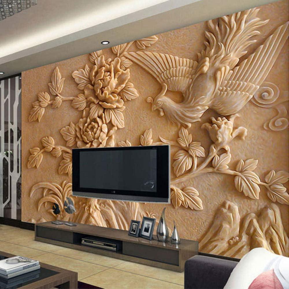 ZHENSI Sfondi 3D Foto Personalizzata 3D Murale Carta da