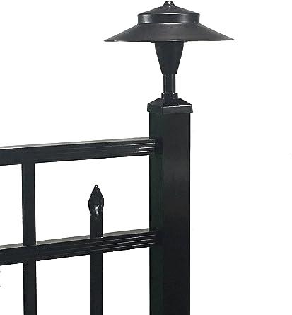 Tru Post Wl101a Led Post Light For A Deck Or Fence Post Black 2 X 2 Aluminum Post Cap Amazon Com
