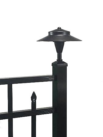Amazon tru post led light for standard 2 x 2 aluminum tru post led light for standard 2quot x 2quot aluminum railing or fence aloadofball Images