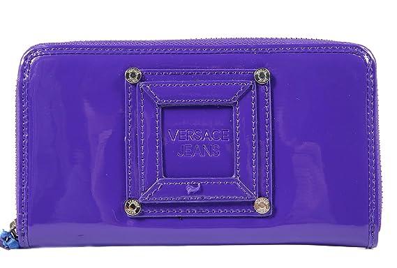 couleurs délicates de gros grosses soldes Versace Jeans portefeuille porte-monnaie femme deux plis ...