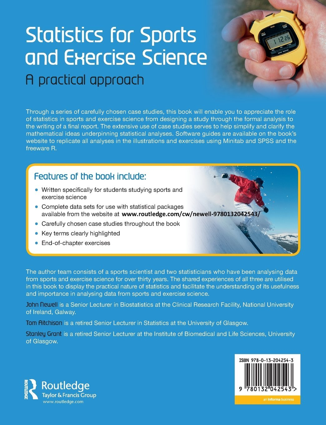 Statistics for Sports and Exercise Science: A Practical