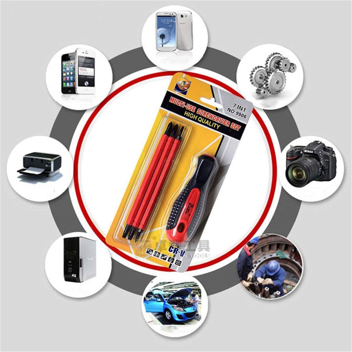Sucastle Screwdriver Set Magnetic Electrician Precision 1000v Voltage Repair Screwdriver Screwdriver Set Insulated Screwdriver Bits 1 Set