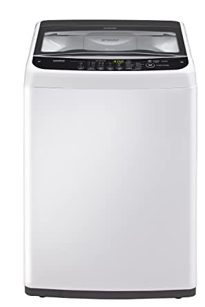 LG 6.2 kg Inverter Fully-Automatic Top Loading Washing Machine (T7281NDDL, Blue White)