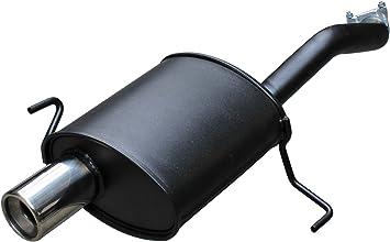 ALFA 147/Typ 937/silenziatore scarico sportivo Sport silenziatore in 1/X 90/mm di Super Sport