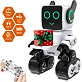 Robot Toy, Remote Control Robot Toy for Kids, Intelligent Programming RC Robot, Suitable for Kids Aged 8 and over to…