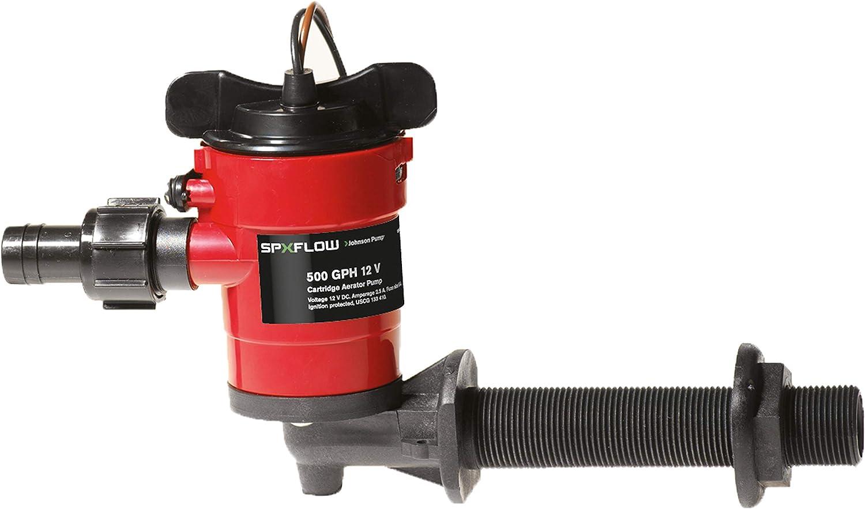 Johnson Pump 38703 Aerating Pump 750 GPH 90°
