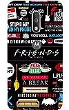 Caseria Friends Slim Fit Hard Back Case Cover For Moto G4 Plus/Motorola Moto G4/Moto G Plus 4th Gen/Moto G 4th Gen(Black)