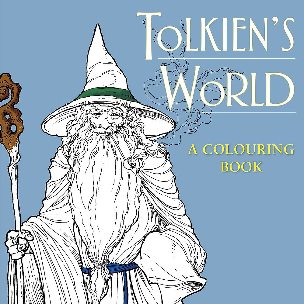 Amazon.com: Tolkien\'s World: A Colouring Book (9780753730201): Mauro ...