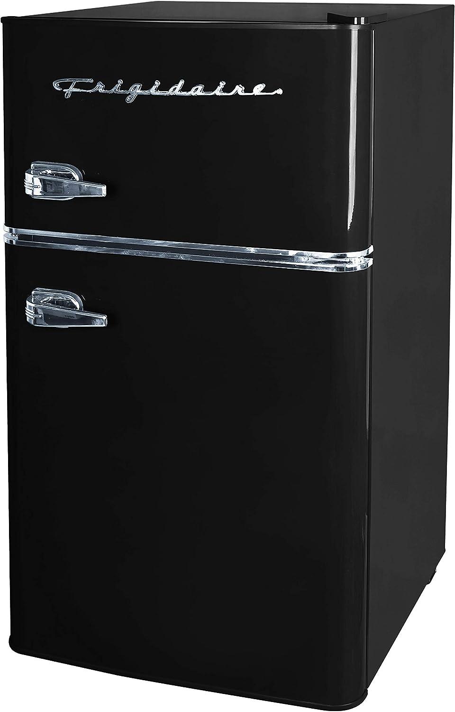 Frigidaire EFR840 3.2 Cu Ft 2 Door Retro Mini Fridge Refrigerator with Freezer