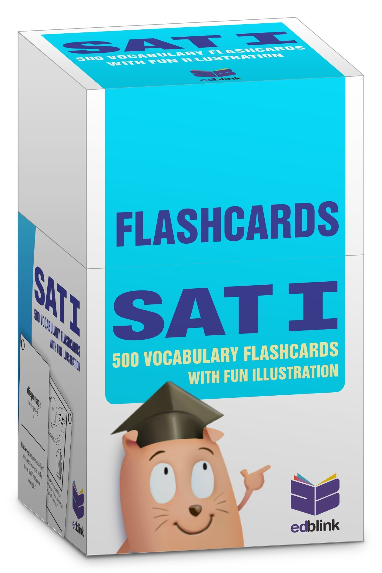 Flashcards SAT - 500 Vocabulary with fun illustration: The most effective way to learn Need-to-Know SAT words to achieve higher score (Volume 1) [Buy CardBook, Get Free Kindle Version] pdf epub