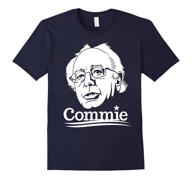 Anti Bernie Sanders Commie 2016 Funny Election T-Shirt-BN