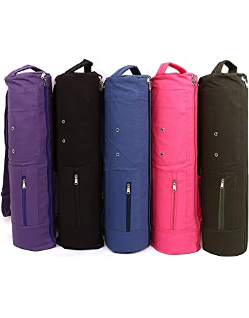 62a39bc9caf KD Yoga Bag MAT Cover Full Zip Carry Bag with Multiple Pockets Storage Area  Adjustable Strap