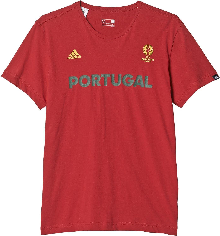 adidas Selección de Portugal - Camiseta Oficial para Hombre: Amazon.es: Zapatos y complementos