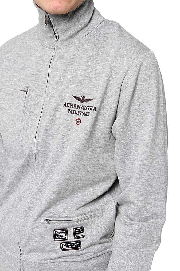 Aeronautica Militare Herren Sweatjacke Voller Reißverschluss Cf am-hs9003   Amazon.de  Bekleidung 17b129a4f4