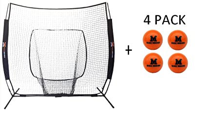 Amazon One More 7 X Portable Pop Up Net Heavy Sand Ball
