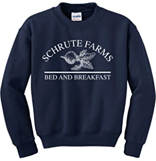 21edd6949 Asher's Apparel Schrute Farms Beets Bed and Breakfast Sweatshirt Sweater  Pullover - Unisex