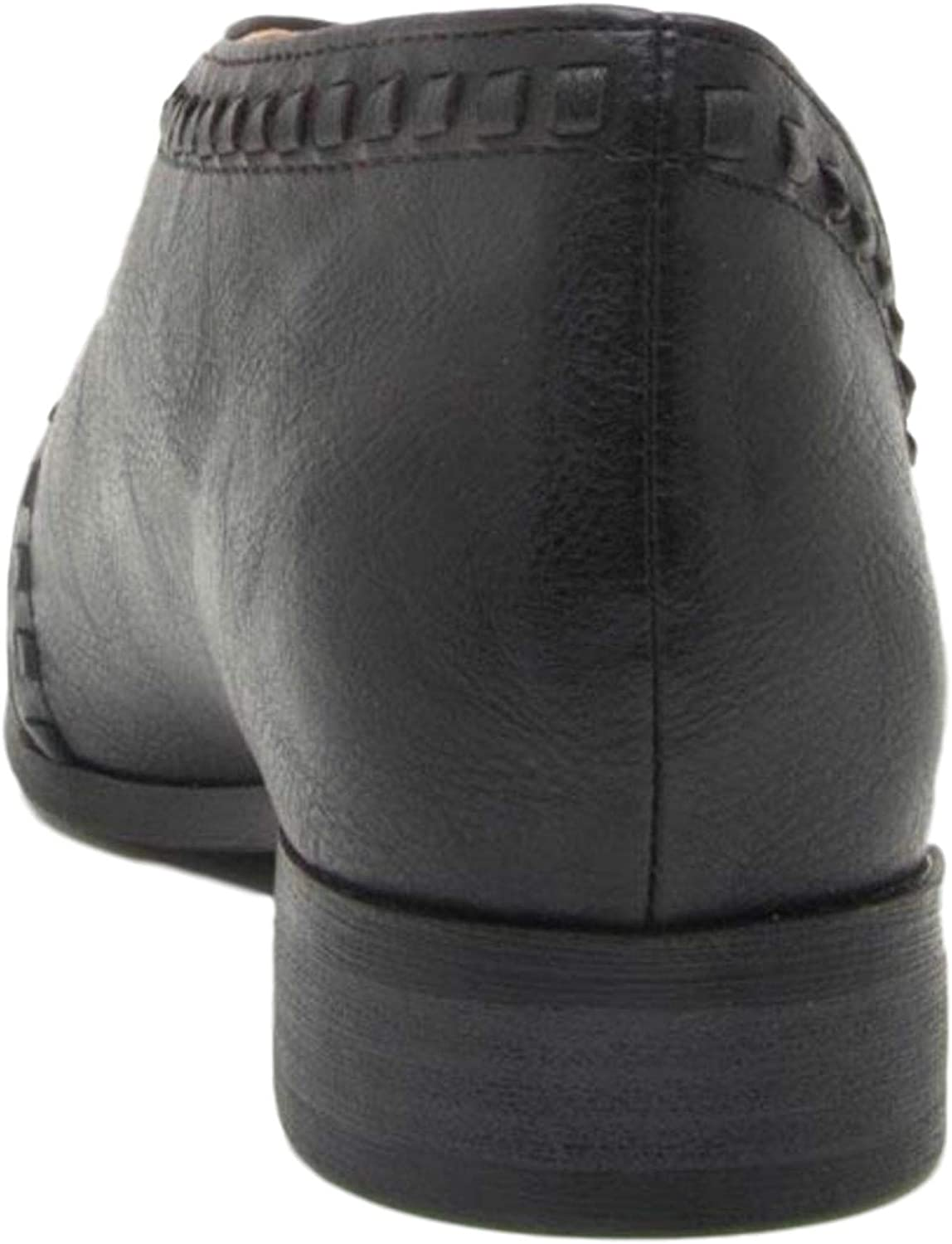 Qupid Womens Faux Leather Tuxedo Booties