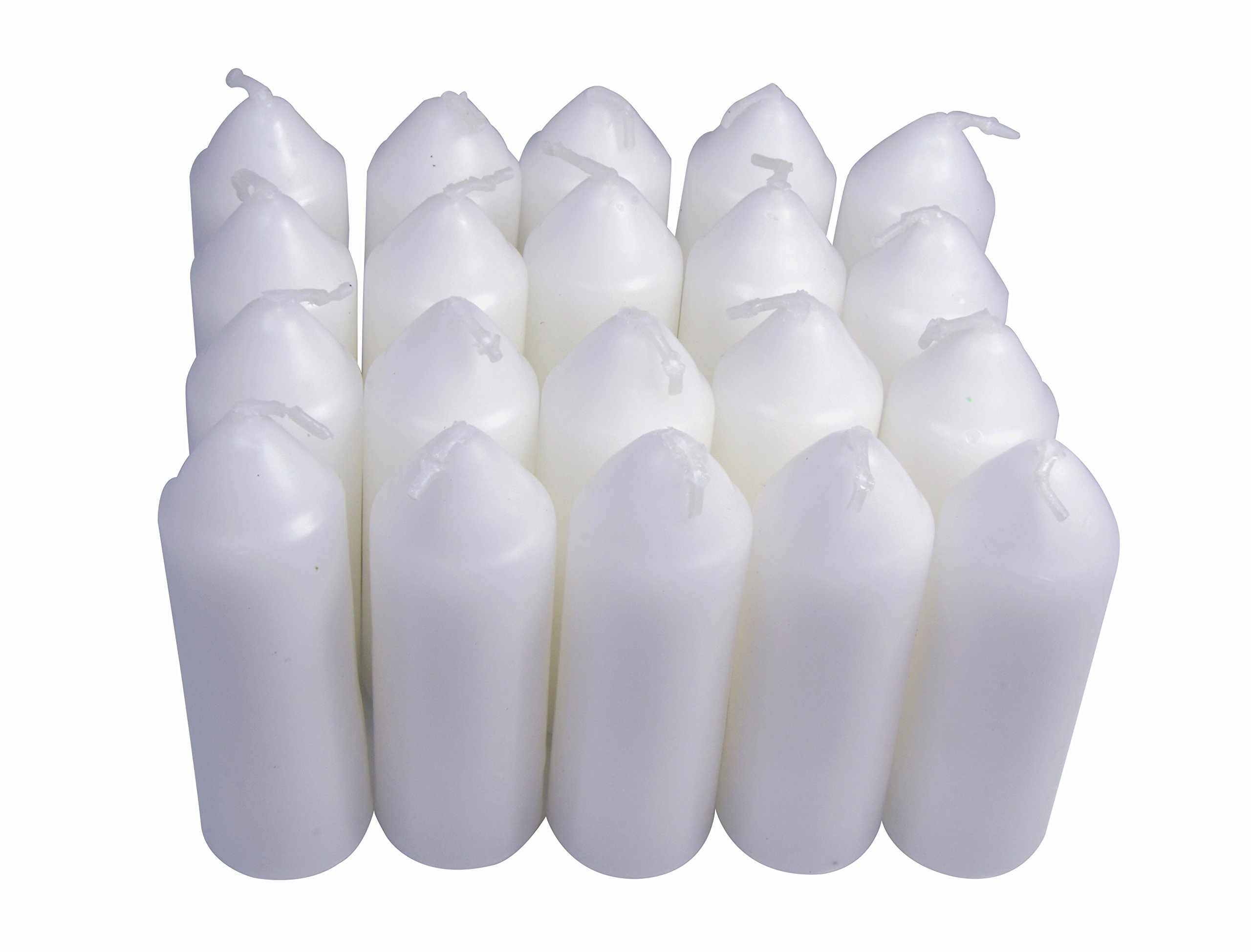 UCO 9-Hour White Candles Candle Lanterns and Emergency Preparedness, 20-Pack by UCO