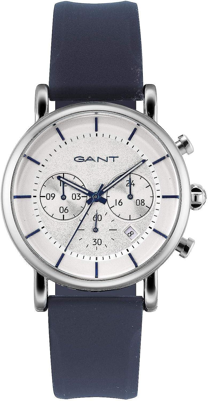 Gant Reloj Analógico para Hombre de Cuarzo con Correa en Caucho 7630043935804