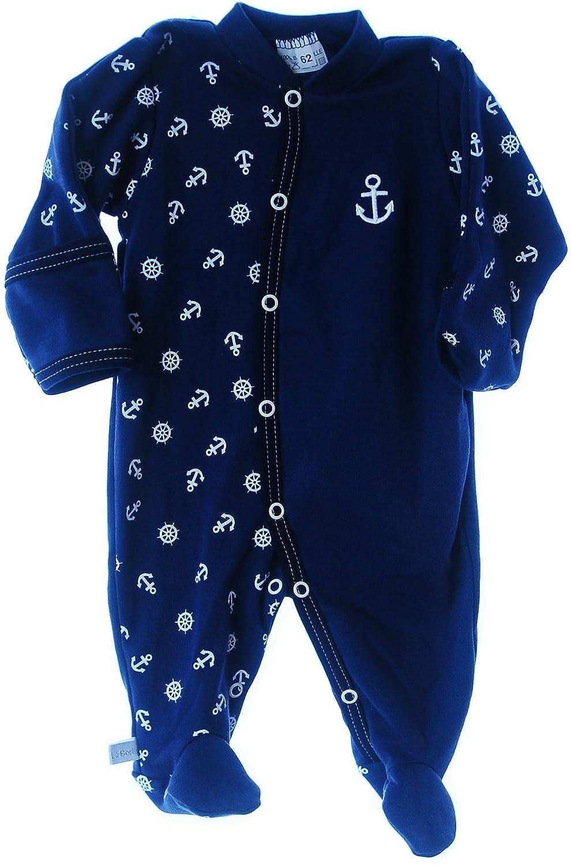 Strampler Baby Overall Anzug 50 56 62 68 74 80 86 92 Kratzschutz Schlafanzug