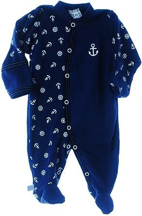 100/% Baumwolle Unisex Baby Strampler gr 50 56 62 68 74 80 Schlafanzug TOP