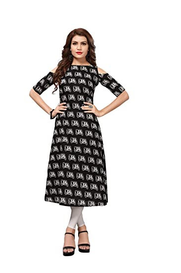 7f709a782ccc Royal Export Women s A-Line Midi Dress (Black auto XL Black X-Large)  Amazon .in  Clothing   Accessories