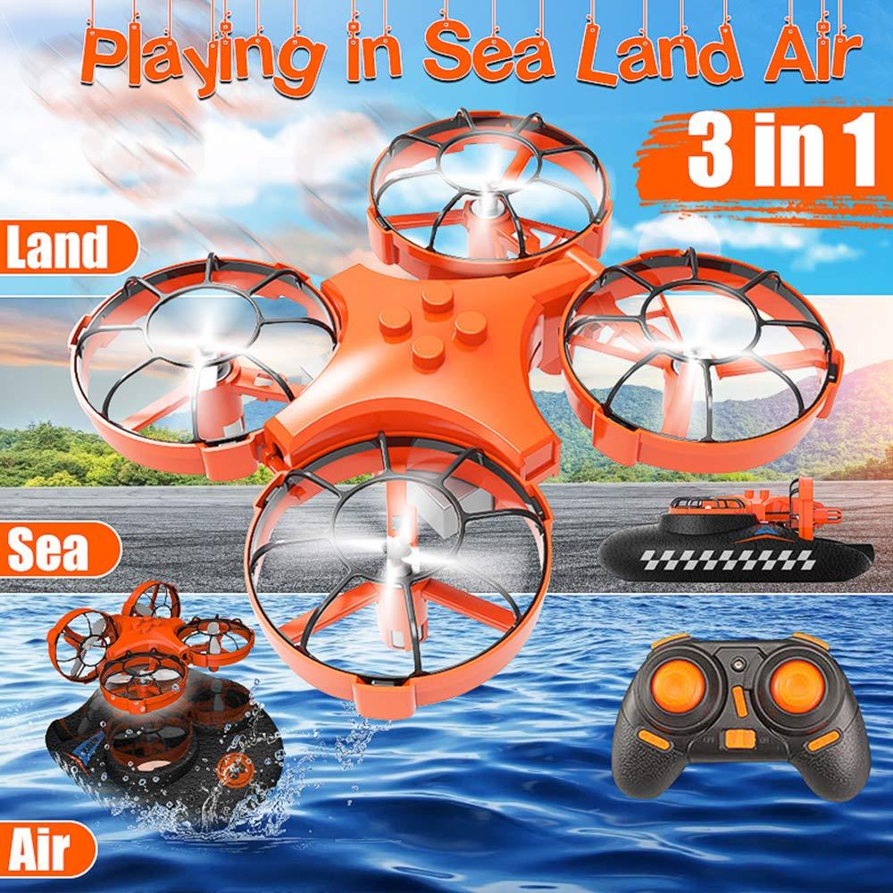 Lily Dron Anfibio marítimo, terrestre y aéreo, aerodeslizador de ...