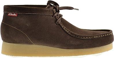 Clarks Stinson Men's Boots Brown Suede