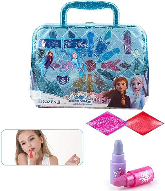 Urben Life Maquillaje Niñas Set, Maletin Juguete Niña, Disney Frozen Vanity Case Set, Vanity Case For Childrens Day Birthday Gift - Seguridad APROBADA - NO TÓXICO: Amazon.es: Hogar