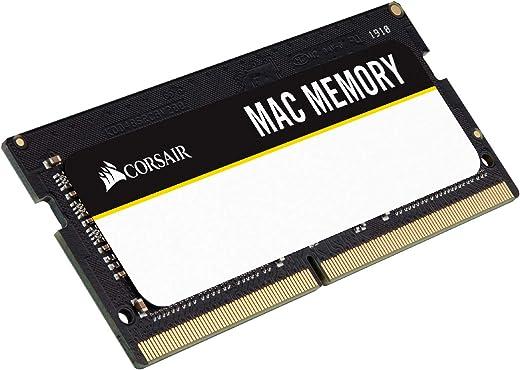 ذاكرة لاب توب كورسير CMSA8GX3M1A1600C11 معتمدة من ابل 8 جيجا DDR3 1600 ميجا هيرتز (PC3 12800) 1.35 فولت
